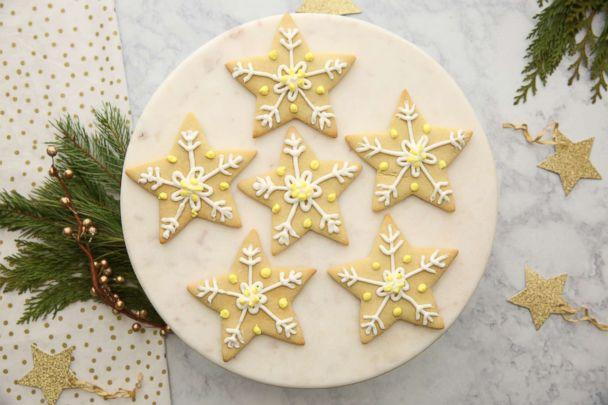 First lady Melania Trump's star sugar cookies are photographed here. (ABC News)