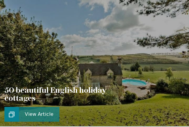 50 beautiful English holiday cottages for 2017
