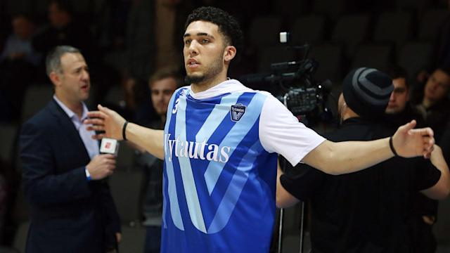 LiAngelo Ball declared for the 2018 NBA Draft on Tuesday, but he shouldn't expect to hear his name called by commissioner Adam Silver on draft night.