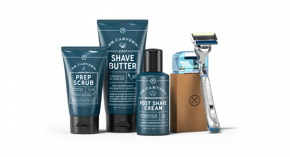 """<p>dollarshaveclub.com</p><p><strong>$35.00</strong></p><p><a href=""""https://go.redirectingat.com?id=74968X1596630&url=https%3A%2F%2Fwww.dollarshaveclub.com%2Fgift%2Fsets%2Fultimate-shave-gift-set&sref=https%3A%2F%2Fwww.womenshealthmag.com%2Flife%2Fg27889813%2Flast-minute-fathers-day-gifts%2F"""" rel=""""nofollow noopener"""" target=""""_blank"""" data-ylk=""""slk:Shop Now"""" class=""""link rapid-noclick-resp"""">Shop Now</a></p><p>Save Dad a trip to the store every time he needs new razor blades with the gift that keeps on giving: a monthly subscription service from Dollar Shave Club. He'll thank you for simplifying his morning routine, and his skin will never look better. </p>"""