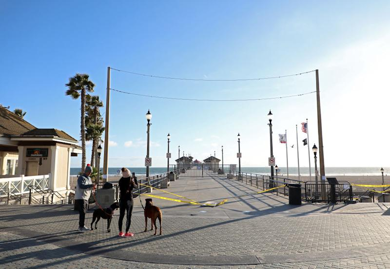 Huntington Beach (Photo by Michael Heiman/Getty Images)