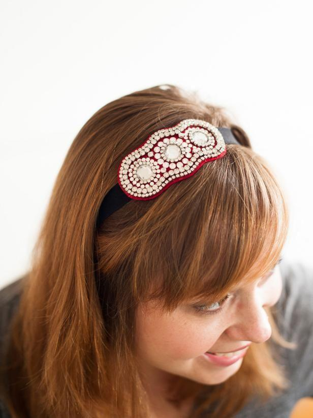 """<p>hgtv.com</p><p><strong>$23.00</strong></p><p><a href=""""https://www.hgtv.com/design/make-and-celebrate/handmade/how-to-make-a-trendy-rhinestone-headband"""" rel=""""nofollow noopener"""" target=""""_blank"""" data-ylk=""""slk:Shop Now"""" class=""""link rapid-noclick-resp"""">Shop Now</a></p><p>A sparkly headband is just the thing to spruce up mom's holiday wardrobe. Put your creativity to the task by making her a one-of-a-kind headband that is sure to have her in the holiday spirit. </p><p><strong><em>Get the tutorial from <a href=""""https://www.hgtv.com/design/make-and-celebrate/handmade/how-to-make-a-trendy-rhinestone-headband"""" rel=""""nofollow noopener"""" target=""""_blank"""" data-ylk=""""slk:HGTV"""" class=""""link rapid-noclick-resp"""">HGTV</a>.</em> </strong></p>"""