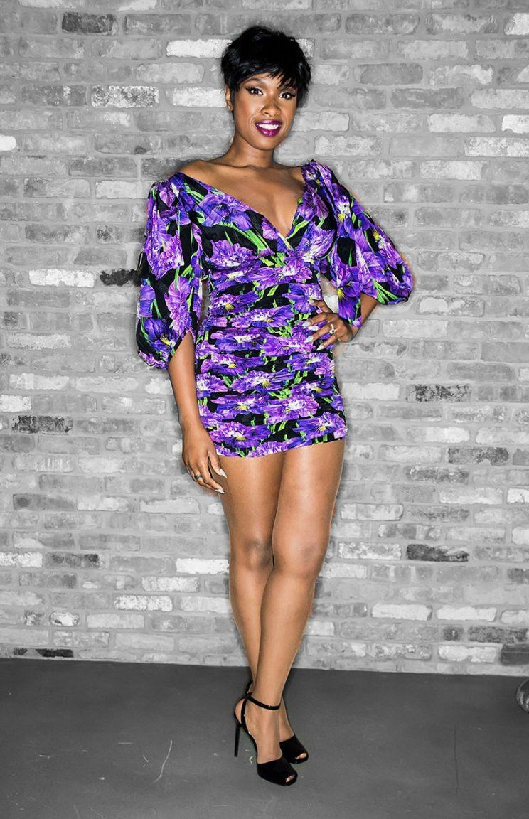 Jennifer Hudson in a Gucci minidress