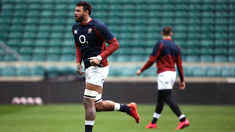 Courtney Lawes to see specialist over ankle injury