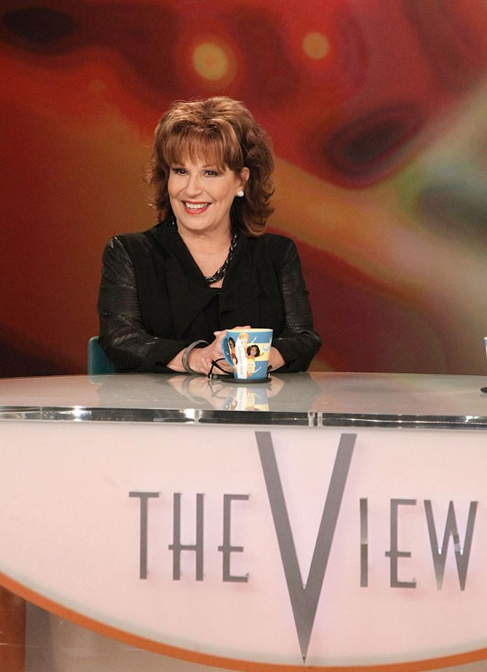 "Joy Behar on her final episode as co-host of ABC's ""The View"" on Friday, August 9, 2013."
