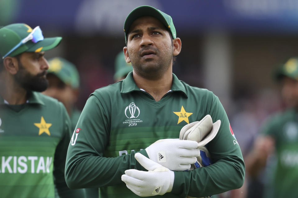 Sarfataz's future as Captain will be decided after their World Cup exit.