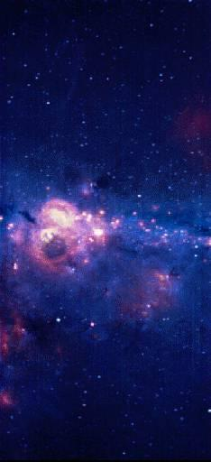 Clouds of gas and dust billow near the center of our Milky Way galaxy in this false-color composite picture that combines three images made by Utah State University's orbiting Spirit III telescope. The brightest spot at the center of the image is the galaxy's center. The picture shows an area of space that measures 3 million billion miles wide and 9 million billion miles from top to bottom. (AP Photo/ho, Department of Defense)