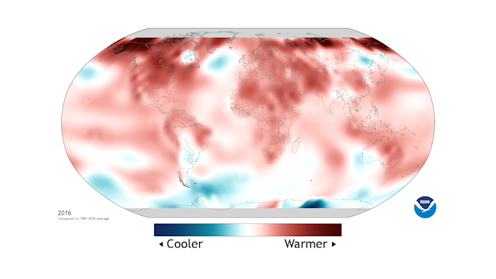 """The American Meteorological Society released the most recent """"State of the Climate"""" report with data from the National Oceanic and Atmospheric Administration. (Photo: NOAA)"""
