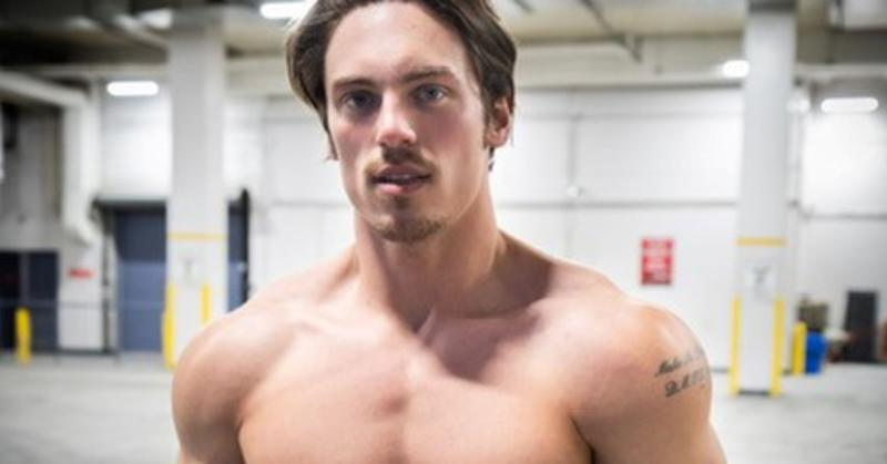 27 year-old Canadian Greg O'Gallagher has made a career for himself on Youtube and Instagram marketing what he calls 'The Hollywood physique.'