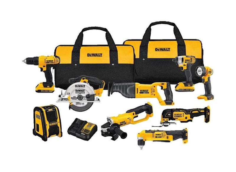 Save $300 on this nine-tool kit with carrying bags. (Photo: Amazon)