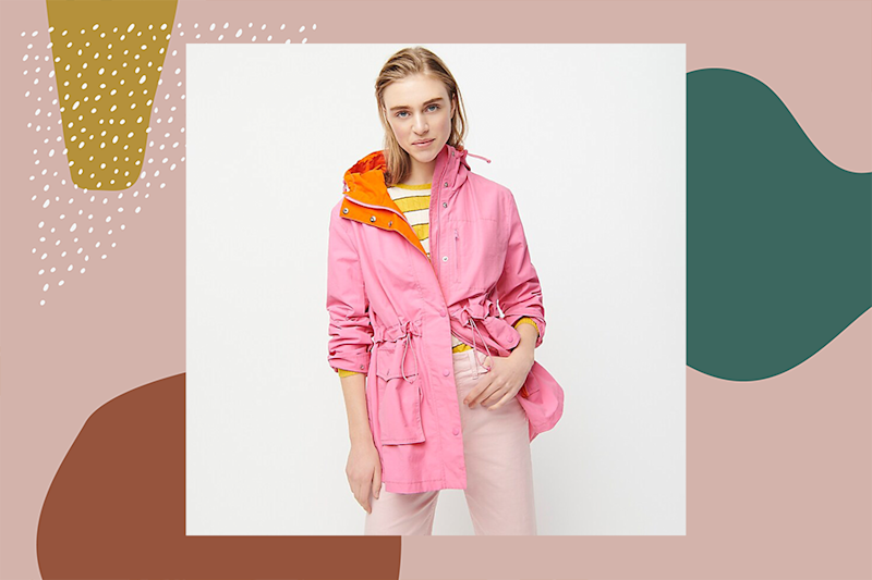 9 rain jackets so stylish you'll be wishing it was pouring every day