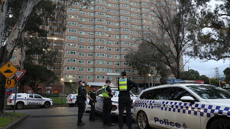 The thousands of people living in the towers will be restricted from leaving their home for any reason for at least five days, Premier Daniel Andrews announced on Saturday.