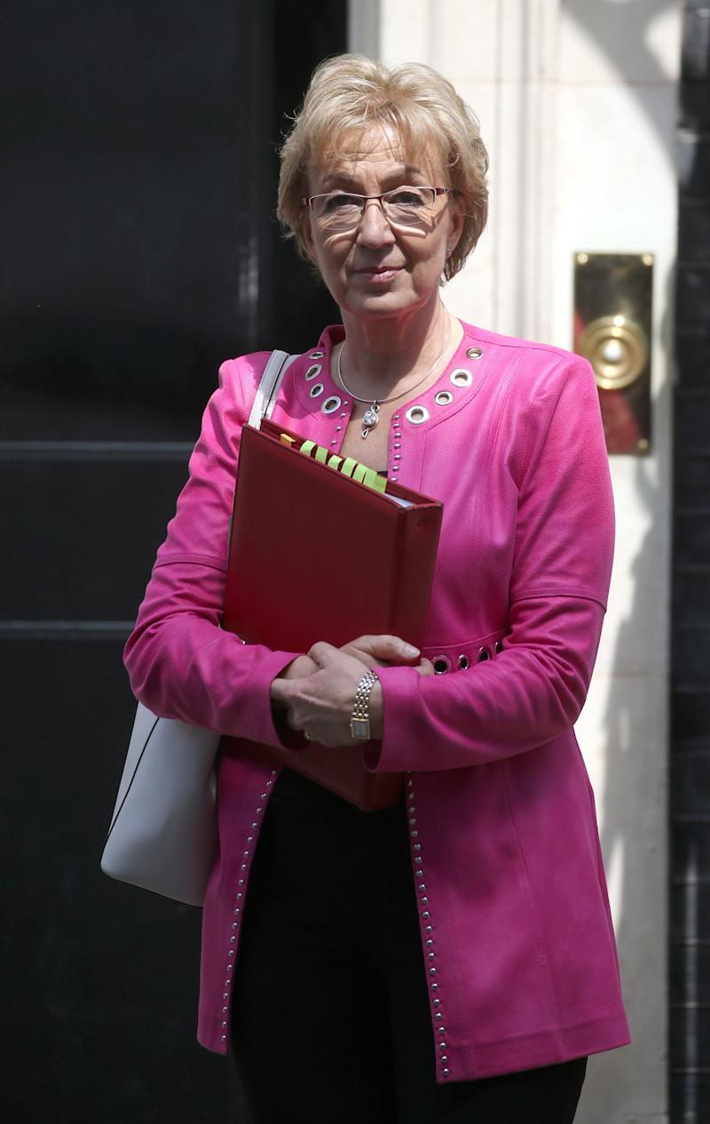 <strong>Andrea Leadsom is&nbsp;one of a number of Brexit-supporting colleagues in the so-called Pizza Club, and is likely to launch a leadership bid.</strong> (Photo: PA Wire/PA Images)