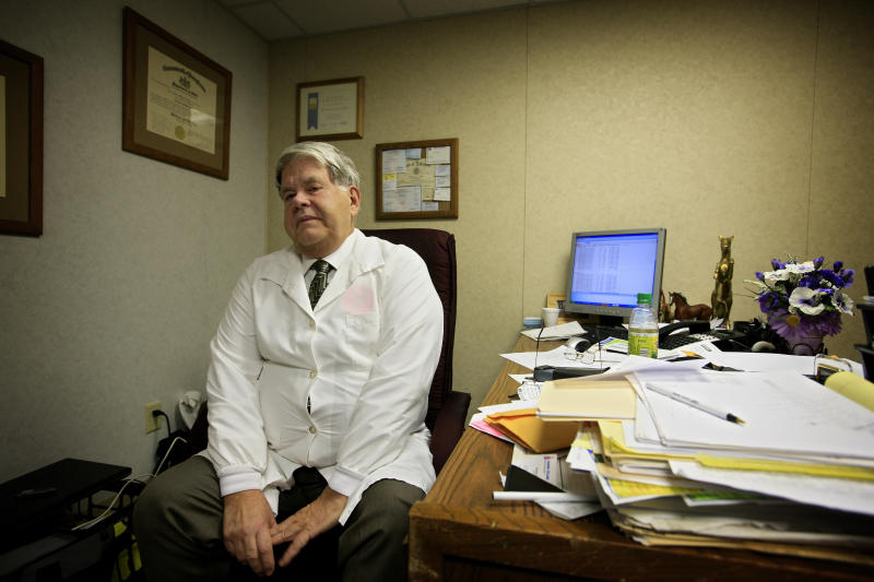 Dr. LeRoy Carhart is one of few doctors in the country who perform abortions later in pregnancy. (Orjan F. Ellingvag via Getty Images)