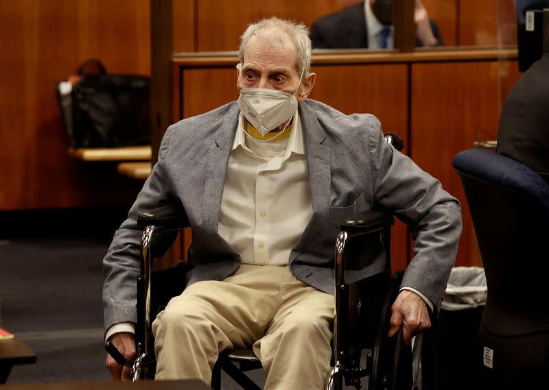 FILE PHOTO: Closing arguments in the Robert Durst murder trial