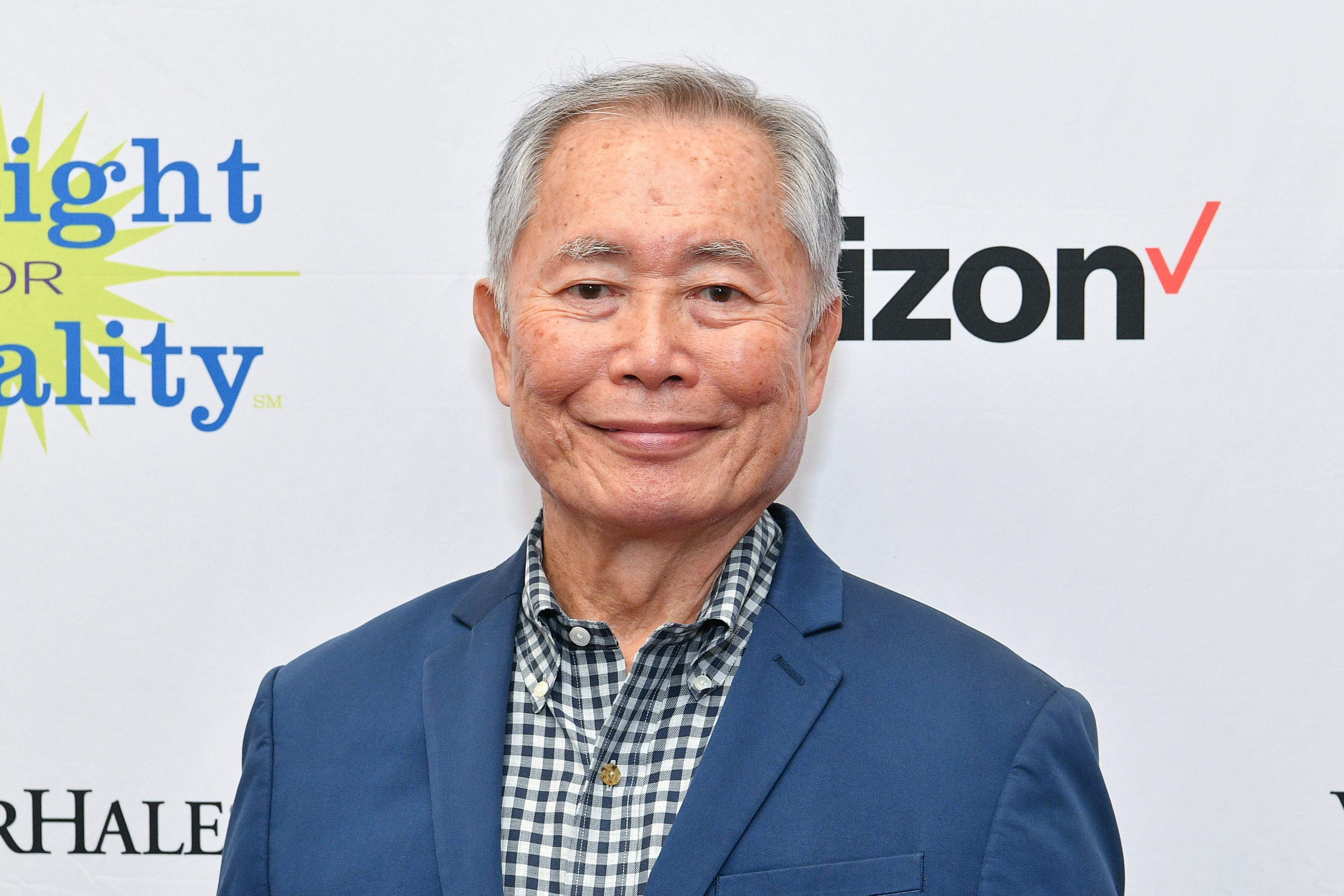 NEW YORK, NEW YORK - NOVEMBER 18: Honoree George Takei attends PFLAG Gives Thanks: Celebrating Inclusion in the Workplace on November 18, 2019 in New York City. (Photo by Dia Dipasupil/Getty Images for PFLAG)