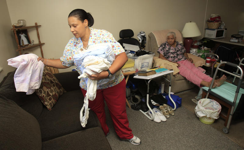 Aging baby boomers face home health care challenge
