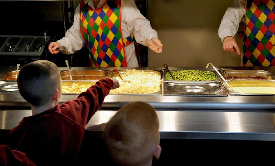 Some schools have faced a disruption over school meals following nationwide supply chain issues. File image. (Anthony Devlin/PA) (PA Archive)