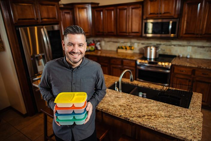 """Beau Coffron, a parenting blogger, rewards his kids with screen time after completing schoolwork and chores. <p class=""""copyright"""">Beau Coffron</p>"""