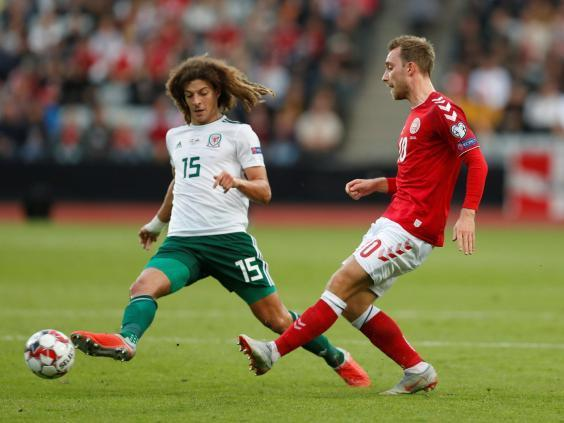 England turned down Wales international Ethan Ampadu for 'taking too few touches', says Paul Tisdale