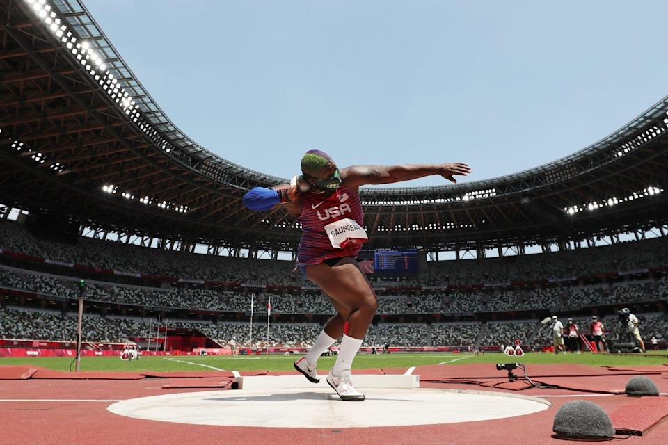 Raven-Saunders-Embed-Athletics - Olympics: Day 9- GettyImages_1331714699