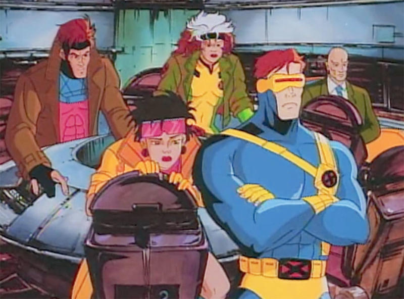 A still from the 1990s X-Men cartoon. (Disney)