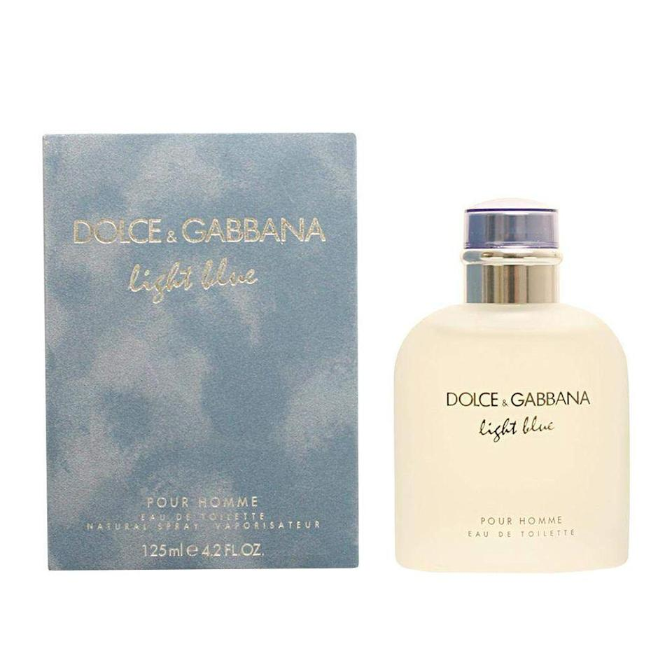 """<p><strong>Dolce & Gabbana</strong></p><p>amazon.com</p><p><strong>$46.55</strong></p><p><a href=""""https://www.amazon.com/dp/B002K4KLMQ?tag=syn-yahoo-20&ascsubtag=%5Bartid%7C2089.g.30317653%5Bsrc%7Cyahoo-us"""" rel=""""nofollow noopener"""" target=""""_blank"""" data-ylk=""""slk:Shop Now"""" class=""""link rapid-noclick-resp"""">Shop Now</a></p><p>An absolute classic with a loyal following that grows with every generation, Light Blue by Dolce & Gabbana is fresh, summery, and earthy all at the same time. There is something intoxicating about this juicy scent that will make it your teen's signature fragrance.</p>"""