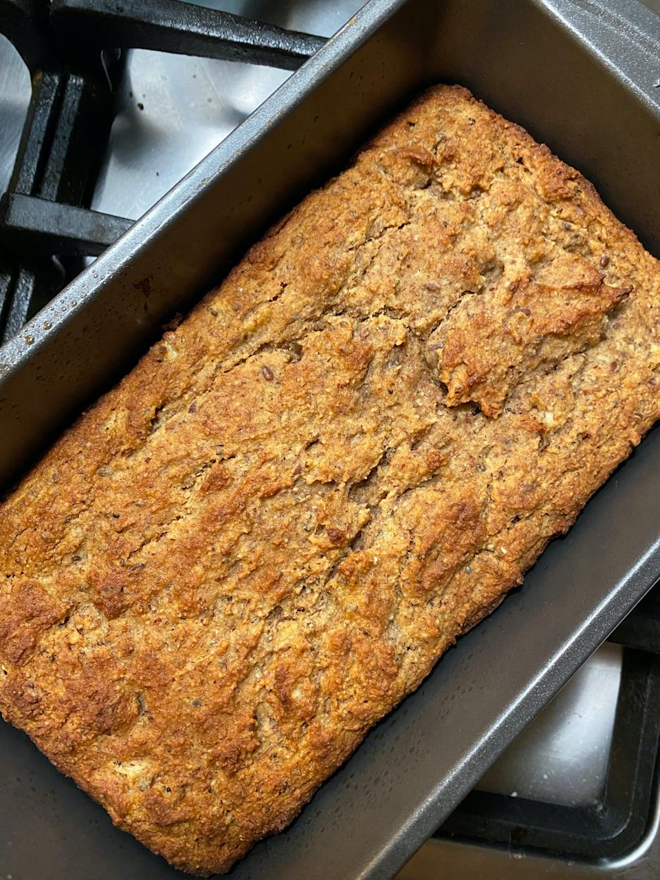 """<h2>Purely Elizabeth Bread & Muffin Mix</h2><br>""""Last month, I rediscovered my love of baking and made a series of bread, muffins, and even a stellar batch of pumpkin cookies. However, nothing beat this grain-free, paleo mix that I discovered for the first time. It couldn't be easier to prepare — just add wet ingredients and stick it in the oven — so it's perfect if you're looking for something quick to whip up. My Brooklyn apartment smelled like a bakery, and it tasted so freakin' delicious, you would never know it was a """"healthy"""" alternative to baked goods. I made it once with blueberries and another time with bananas, and both were A+."""" <em>– Karina Hoshikawa, Beauty & Wellness Writer</em><br><br><em>Shop <strong><a href=""""https://thrivemarket.com/p/purely-elizabeth-bread-and-muffin-mix-grain-free"""" rel=""""nofollow noopener"""" target=""""_blank"""" data-ylk=""""slk:Thrive Market"""" class=""""link rapid-noclick-resp"""">Thrive Market</a></strong></em><br><br><strong>Purely Elizabeth</strong> Bread and Muffin Mix, Grain Free, $, available at <a href=""""https://go.skimresources.com/?id=30283X879131&url=https%3A%2F%2Fthrivemarket.com%2Fp%2Fpurely-elizabeth-bread-and-muffin-mix-grain-free"""" rel=""""nofollow noopener"""" target=""""_blank"""" data-ylk=""""slk:Thrive Market"""" class=""""link rapid-noclick-resp"""">Thrive Market</a>"""