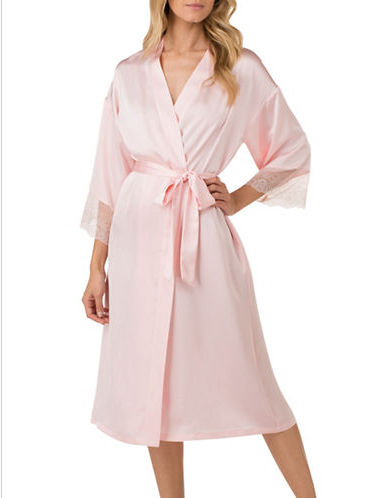 "<p>Between the globs of milk spit up and hours spent wearing the same top or sweats, it's nice to slip into a silky robe and remind yourself that you're still sexy. H HALSTON Satin Charmeuse and Lace Long Robe, $74, <a rel=""nofollow"" href=""http://www.lordandtaylor.com/webapp/wcs/stores/servlet/en/lord-and-taylor/brands/robes/satin-charmeuse-and-lace-long-robe"">lordandtaylor.com</a> </p>"