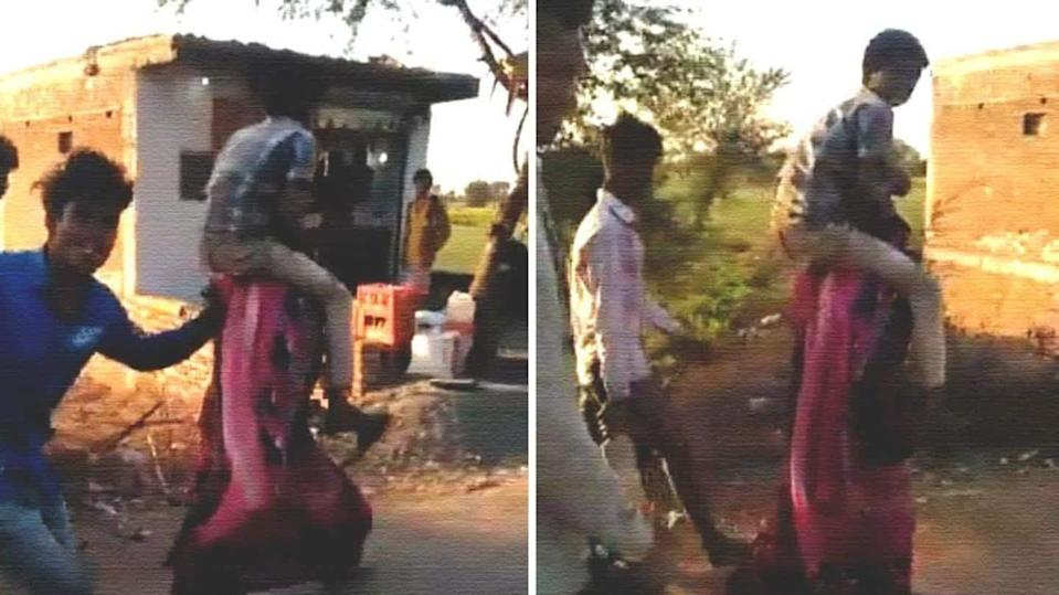 MP: Woman shamed, forced to carry relative on shoulders