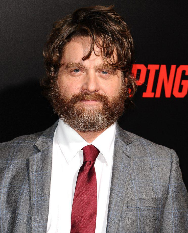 Zach Galifianakis (Photo by Jason LaVeris/FilmMagic)