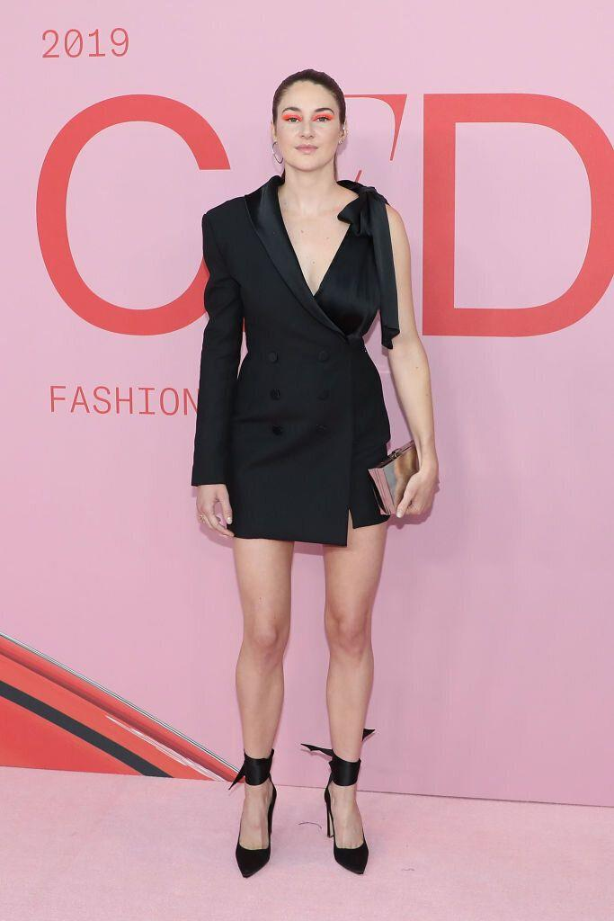 Shailene Woodley at the CFDA Fashion Awards in New York City. [Photo: Getty]