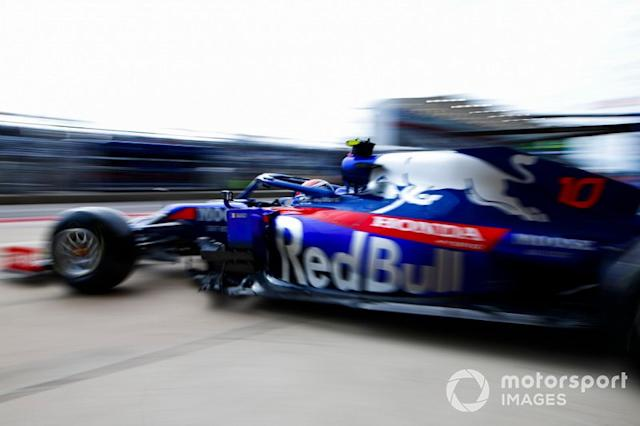 """Pierre Gasly, Toro Rosso STR14 <span class=""""copyright"""">Andrew Hone / Motorsport Images</span>"""
