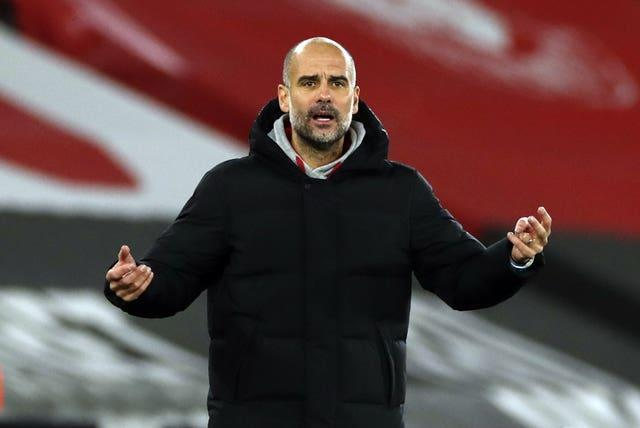 City boss Guardiola has confirmed Aguero must isolate for