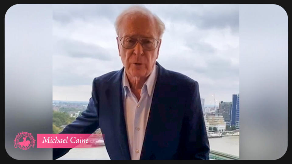 UNSPECIFIED - OCTOBER 10: In this screengrab Michael Caine appears during the 2020 Carousel of Hope Ball benefiting the Children's Diabetes Foundation on October 10, 2020 in UNSPECIFIED, UNSPECIFIED - Region AMER. (Photo by Getty Images/Getty Images for Children's Diabetes Foundation )