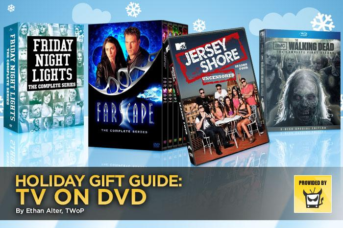 Now you can help the TV lovers in your life catch up on the best shows one entire season, or even series, at a time. But be warned: Once they unwrap these DVD gift sets, they may not budge from in front of the TV for the duration of your holiday get-together.