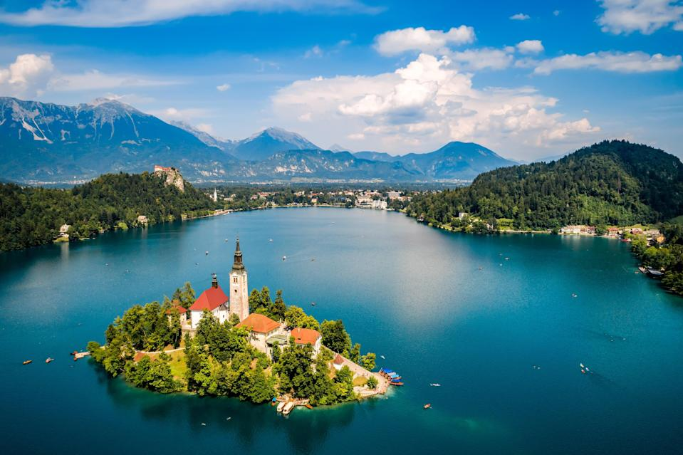 Stunning Lake Bled is a must-see in Slovenia (Alamy/PA)