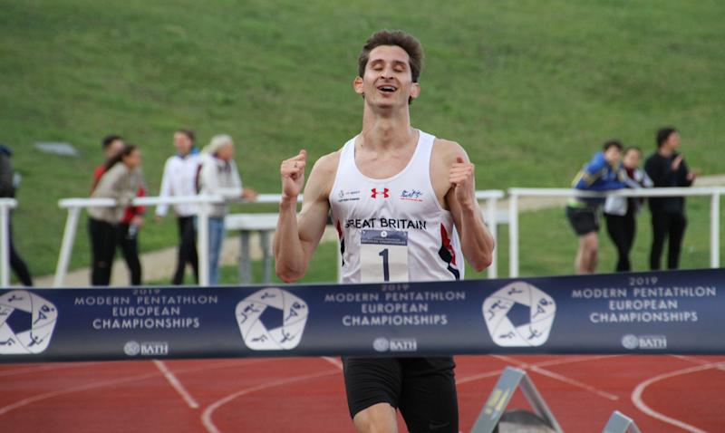 Jamie Cooke won the world and European modern pentathlon title and is one of Britain's top contenders for the 2020 Olympics, which will now be staged one year later during to the COVID-19 pandemic