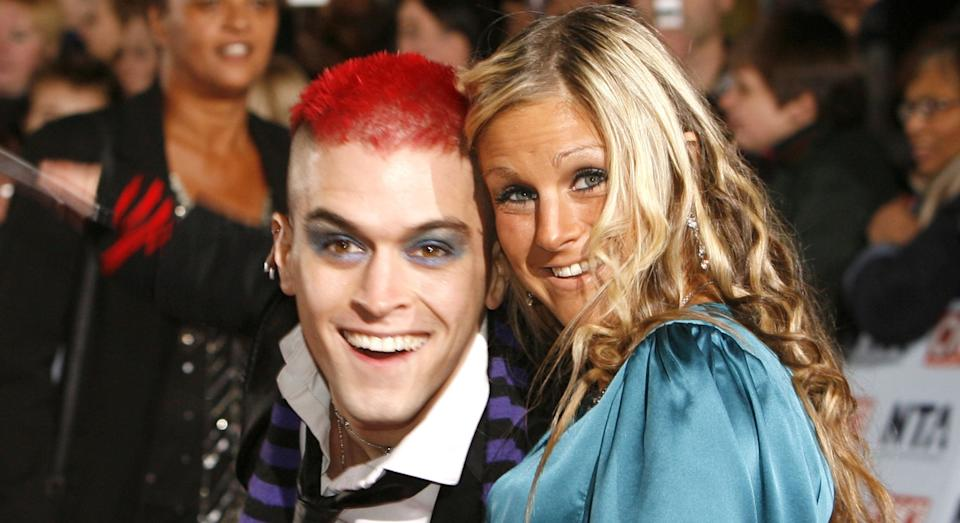 Pete Bennett and Nikki Grahame met in the Big Brother house in 2006. (Getty Images)