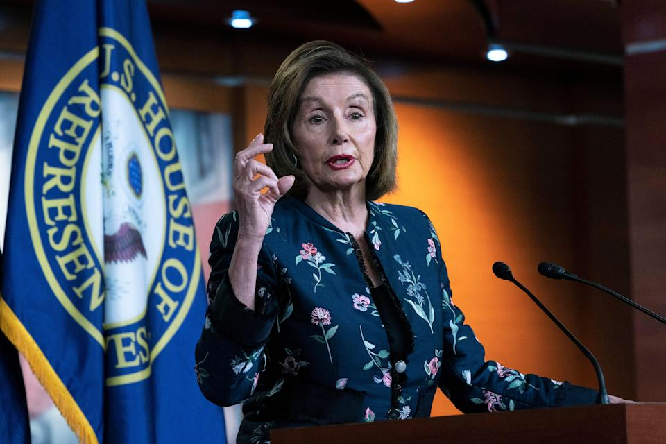 """House Speaker Nancy Pelosi and other Democratic leaders have called it a """"moral imperative"""" to keeppeople from being evicted from their homes amid the coronavirus pandemic."""