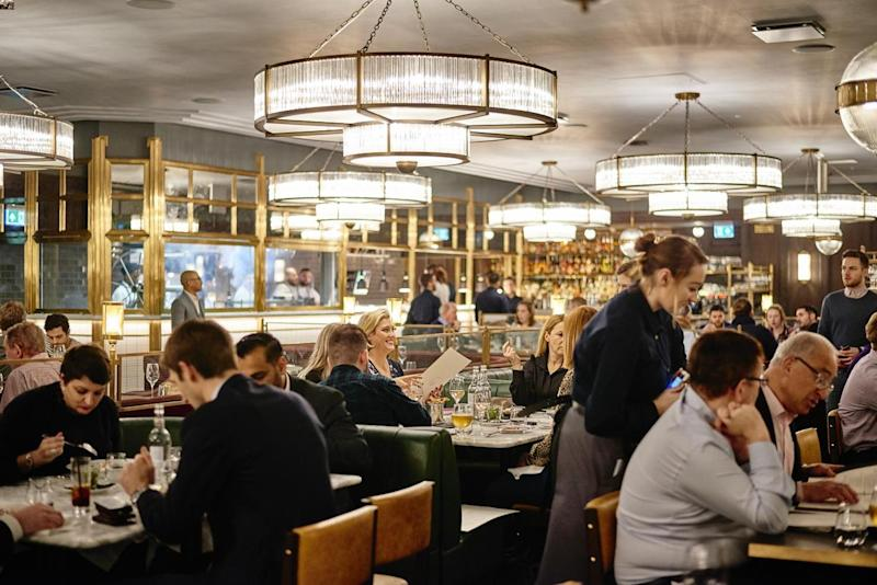 Titanic glamour: Barbecoa Piccadilly channels the 1920s: Ella Miller
