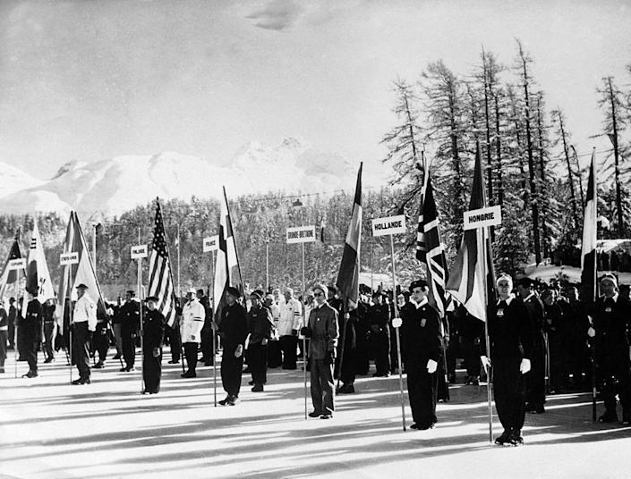 <p>As the first Olympics following World War II (1940's and 1944's Winter and Summer Games were canceled), financial resources were understandably strained. The opening ceremony was a bare-bones affair, but widely covered by the media at the time — over 500 press credentials were issued. </p>