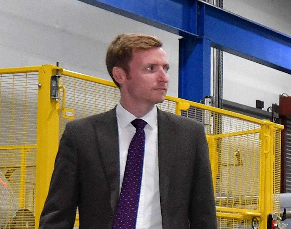 Lee Rowley, the MP for North East Derbyshire. Photo: Anthony Devlin/AFP/Getty Images