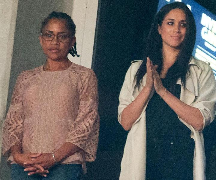Meghan Markle's mother is Doria Ragland, a 61-year-old social worker and yoga instructor (AFP Photo/Geoff Robins)