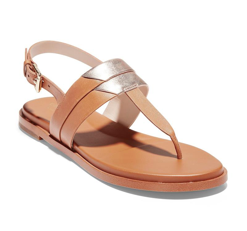 Cole Haan Ainslee Grand T-Strap Sandals. (Photo: Macy's)
