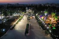 In Idlib city and some other areas near the border, there is now power for more than half the day