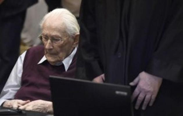 German prosecutors say 'bookkeeper of Auschwitz' fit for prison