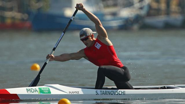 Russia's Ilia Shtokalov has been awarded a bronze medal from the men's canoe single 1000 metres after Serghei Tarnovschi failed drugs test.