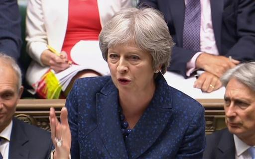 Britain's Prime Minister Theresa May had warned that defeat on the bill would weaken her hand in Brexit talks