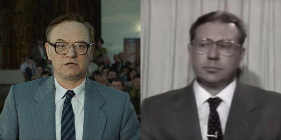 <p>In HBO's hit drama miniseries, <em>Chernobyl, </em>Harris brilliantly portrayed Soviet chemist Valery Legasov, who was tasked with cleaning up the disaster.</p>